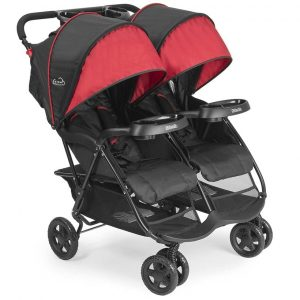 1 Kolcraft Cloud Plus Lightweight Double Stroller