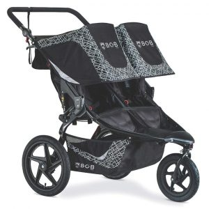 4 BOB Gear Revolution Flex 3.0 Duallie Double Jogging Stroller